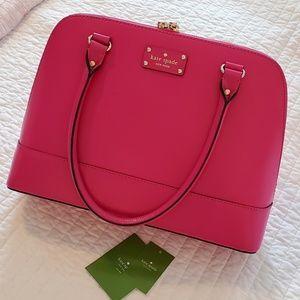 Hot Pink Kate Spade Wellesley Purse
